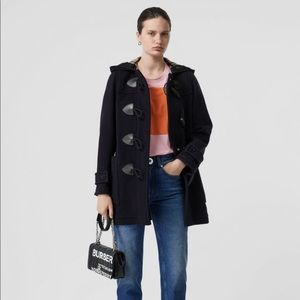 Burberry Wool Blend Duffle Coat